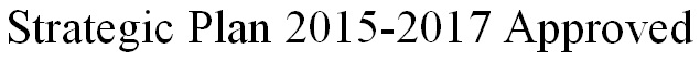 Strategic Plan 2015-2017
