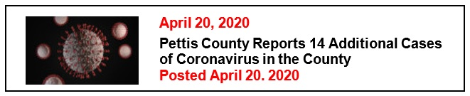 4-20-20 14 Additional Cases of Coronavirus in the County Eng