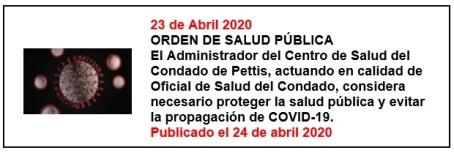4-23-20 Public Health Order