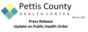 5-29-20 PCHC Update on Public Health Order