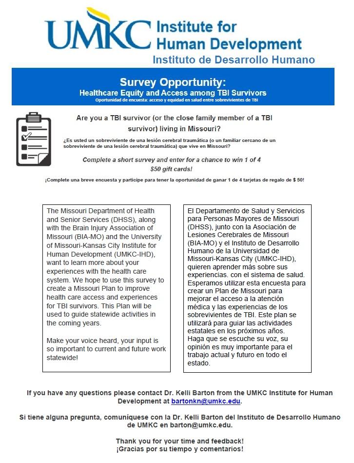 UMKC Survey 1